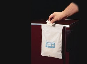 Bel-art Adhesive Waste Bag–Cleanware - 고려에이스 쇼핑몰